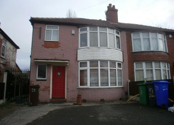 Thumbnail 4 bedroom property to rent in Lathom Road, Withington, Manchester