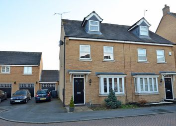 Thumbnail 3 bed town house for sale in Spellow Close, Coton Park, Rugby