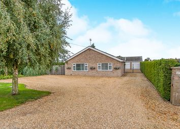 Thumbnail 3 bed detached bungalow for sale in Station Road, Gedney Hill, Spalding