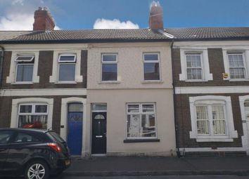 Thumbnail 3 bed terraced house for sale in Cyfarthfa Street, Cardiff, Caerdydd