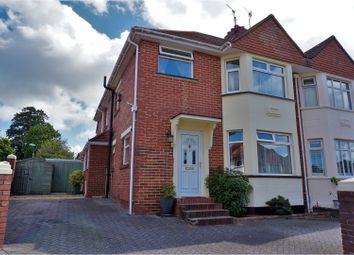 Thumbnail 5 bedroom semi-detached house for sale in Egham Avenue, Exeter