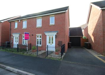 Thumbnail 3 bed semi-detached house to rent in Rothesay Gardens, Monmore Grange, Wolverhampton