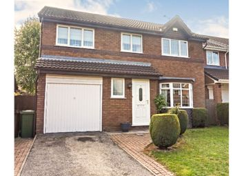 Thumbnail 4 bed detached house for sale in Eskdale Close, Normanton
