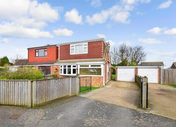 Thumbnail 3 bed semi-detached bungalow for sale in Courtland Avenue, Whitfield, Dover, Kent