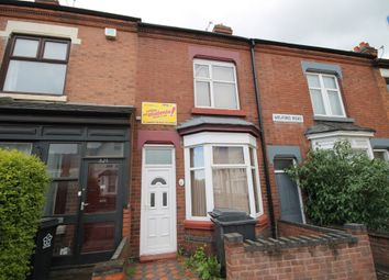 Thumbnail 4 bed terraced house to rent in Welford Road, Knighton Fields, Leicester