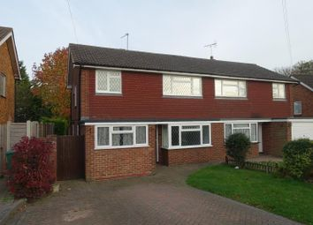 Thumbnail 4 bed semi-detached house to rent in Lipsham Close, Banstead