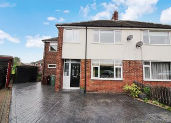 Thumbnail 4 bed semi-detached house for sale in Barley Hill Crescent, Garforth, Leeds