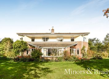 Thumbnail 4 bed detached house for sale in Henstead Road, Hethersett, Norwich