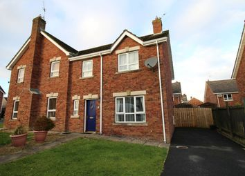 Thumbnail 3 bed semi-detached house for sale in Stonebridge Meadows, Lisburn