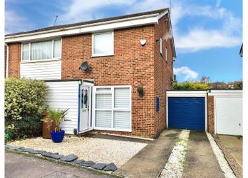 2 bed semi-detached house for sale in Nightingale Close, Rainham, Gillingham ME8