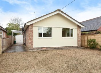 Thumbnail 2 bedroom detached bungalow to rent in Chalgrove, Oxford/Wallingford