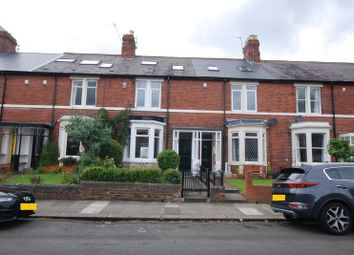 Thumbnail 4 bedroom terraced house for sale in Alwinton Terrace, Gosforth, Newcastle Upon Tyne