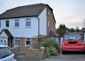 Thumbnail 2 bed semi-detached house for sale in Brenchley Close, Rochester
