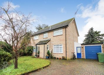 Thumbnail 4 bed detached house for sale in Nunnery Drive, Thetford