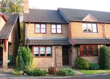 Thumbnail 2 bed end terrace house to rent in Cannon Close, College Town, Sandhurst