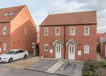 Thumbnail 2 bed semi-detached house for sale in 24 Westfield Avenue, Norton, Malton