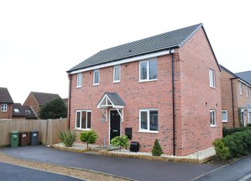 Thumbnail 3 bedroom detached house for sale in Mason Road, Melton Mowbray