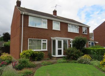 Thumbnail 3 bedroom semi-detached house for sale in Woodfield Avenue, Bury, Ramsey, Huntingdon
