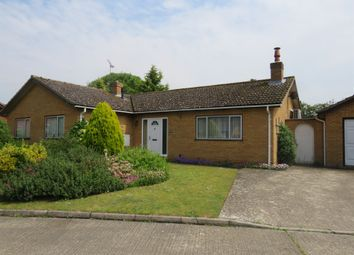 Thumbnail 3 bed detached bungalow for sale in Temple Close, Icklingham, Bury St. Edmunds