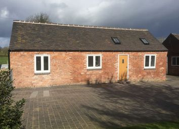 Thumbnail 1 bed detached house to rent in Slindon, Stafford