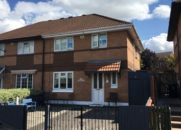 Thumbnail 3 bed semi-detached house for sale in Marriott Road, Leicester