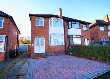 Thumbnail 3 bed semi-detached house to rent in Calverley Road, Kings Norton, Birmingham