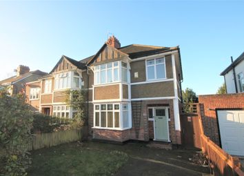 Thumbnail 3 bed semi-detached house to rent in Warren Avenue, Bromley