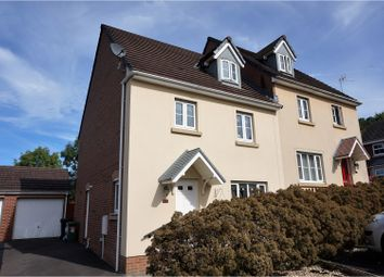 Thumbnail 4 bedroom semi-detached house for sale in Glas Y Gors, Aberdare