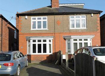 Thumbnail 3 bed semi-detached house for sale in Abbott Road, Alfreton, Derbyshire