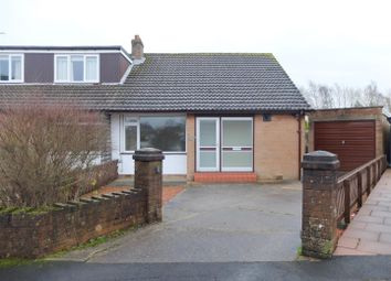 Thumbnail 3 bed semi-detached bungalow for sale in South Croft, Houghton, Carlisle
