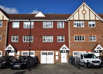Thumbnail 4 bed town house for sale in Ramsdell Road, Fleet