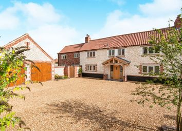 Thumbnail 3 bed property for sale in West End, Northwold, Thetford