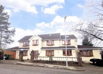 Thumbnail 5 bed detached house for sale in Duffryn Avenue, Lakeside, Cardiff