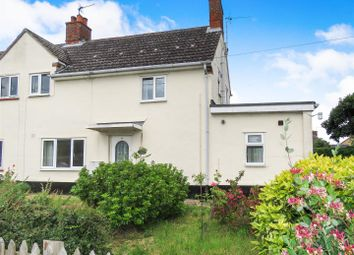 Thumbnail 3 bed semi-detached house for sale in High Street, Offord D'arcy, St. Neots