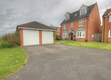 Thumbnail 6 bed detached house for sale in Castlefields Drive, Prudhoe, Northumberland