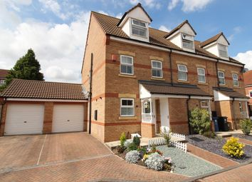Thumbnail 3 bed town house for sale in Falcon Grove, Gainsborough