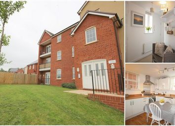 Thumbnail 2 bedroom flat for sale in Harris Place, Exeter