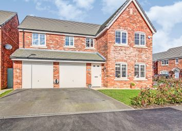 Thumbnail 5 bed detached house for sale in Cotton Field Road, Holmes Chapel, Crewe