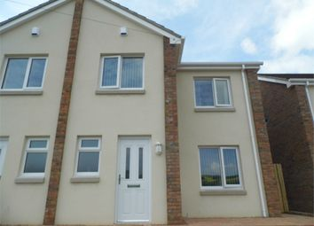 Thumbnail 3 bed semi-detached house to rent in Heol Crwys, Cwmavon, Port Talbot, West Glamorgan