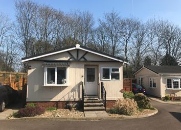 Thumbnail 3 bedroom mobile/park home for sale in Danesbury Park Road, Welwyn