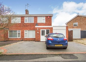 Thumbnail 3 bed semi-detached house for sale in Long Furrow, East Goscote