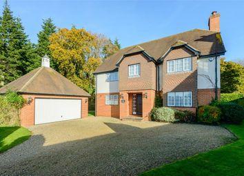 Thumbnail 4 bed detached house for sale in Queens Copse Lane, Holt, Wimborne, Dorset