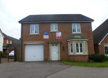 Thumbnail 4 bed detached house for sale in Cadwal Court, Llantwit Fardre, Pontypridd