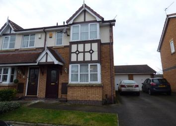Thumbnail 3 bed semi-detached house for sale in Kings Meadow, Southport, Merseyside, Uk