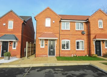 Thumbnail 3 bed semi-detached house for sale in Brick Kiln Drive, Hasland, Chesterfield