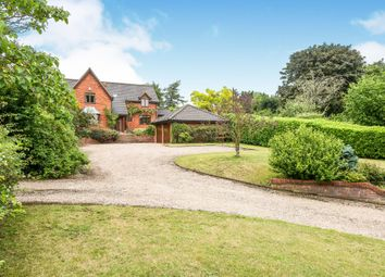 Thumbnail 4 bed detached house for sale in Cargate Lane, Saxlingham Nethergate, Norwich