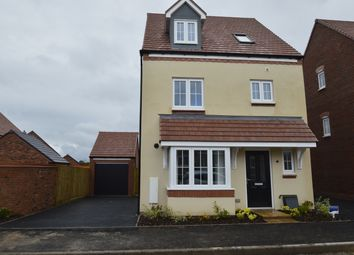 Thumbnail 4 bed detached house to rent in Pewit Close, Bowbrook, Shrewsbury