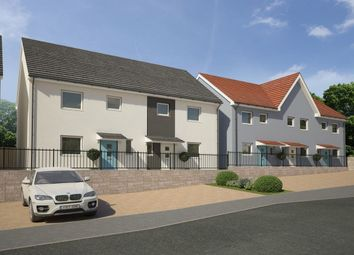 Thumbnail 3 bed semi-detached house for sale in Poets Corner, Chaucer Way, Plymouth