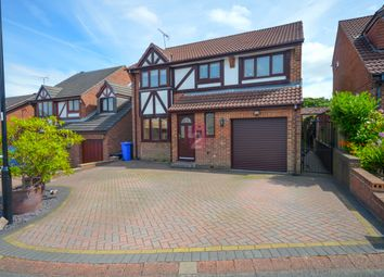 Thumbnail 5 bed detached house for sale in Bishopdale Court, Mosborough, Sheffield
