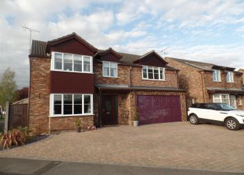 Thumbnail 5 bedroom detached house for sale in Shaw Way, Nettleham, Lincoln